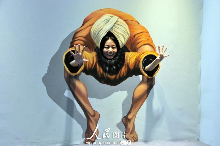 高清:看广州3d魔幻艺术展 体验震撼视觉盛宴【7】图片