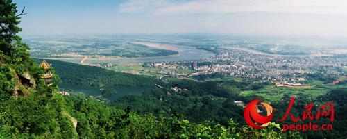 兴仁县全城风景