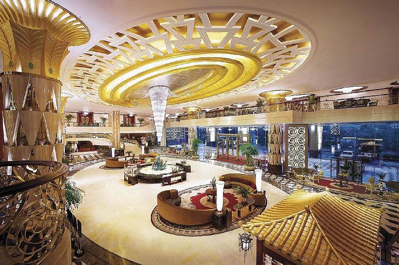 东莞喜来登大酒店.喜来登大酒店位于东莞市厚街镇,商业、娱乐、购...