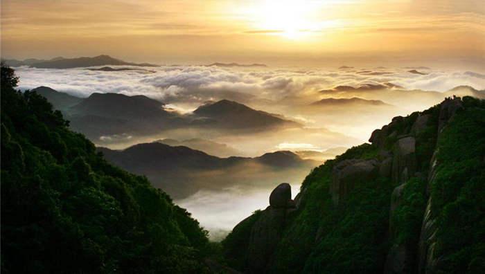 国家重点风景名胜区,国家地质公园——太姥山,位于福建省福鼎市,南距
