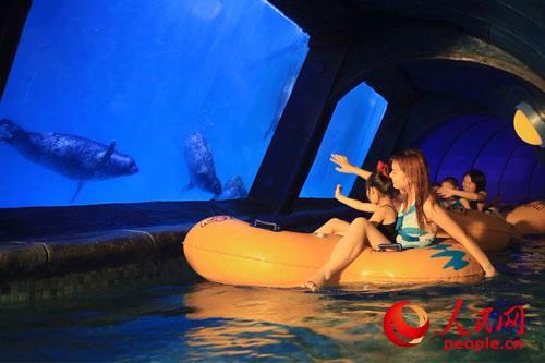 辽宁抚顺皇家海洋乐园夏威夷沙滩冲浪馆3月29日新装