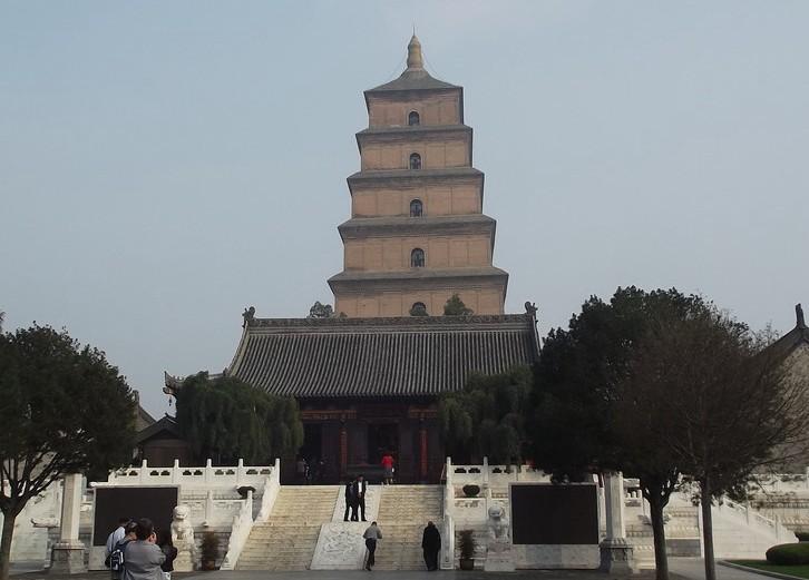 西安大雁塔·大唐芙蓉园景区(来源:西安旅游网)