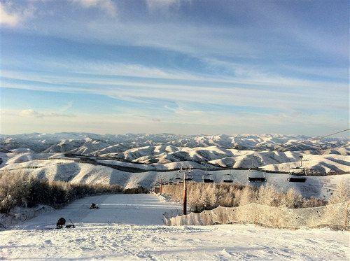 河北省体育局高原训练基地长城岭滑雪场