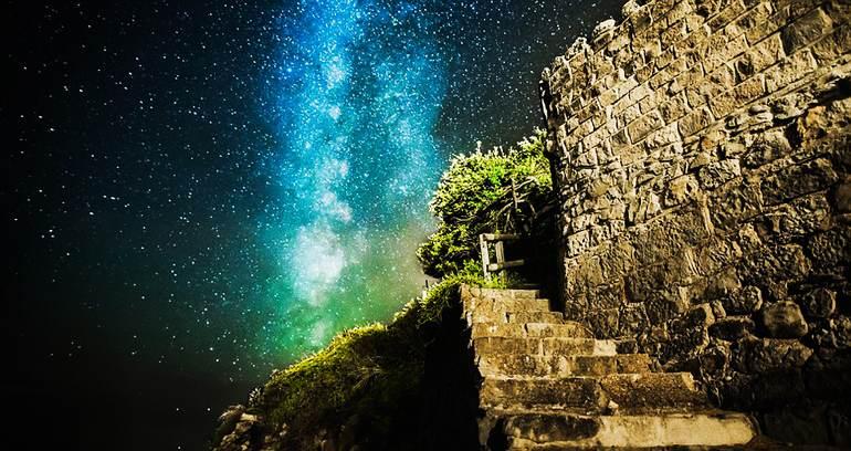 高清:摄影师镜头下英怀特岛熠熠星空【3】
