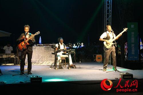 外籍乐队演出