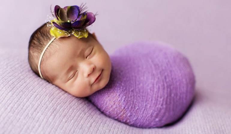 高清:英摄影师抓拍婴儿酣睡萌照【10】