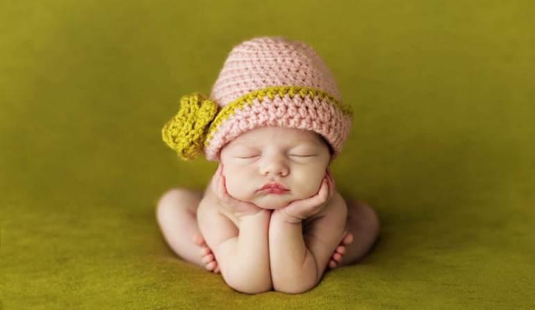 高清:英摄影师抓拍婴儿酣睡萌照【5】
