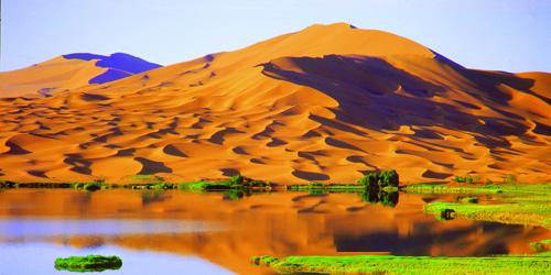 阿拉善沙漠珠峰