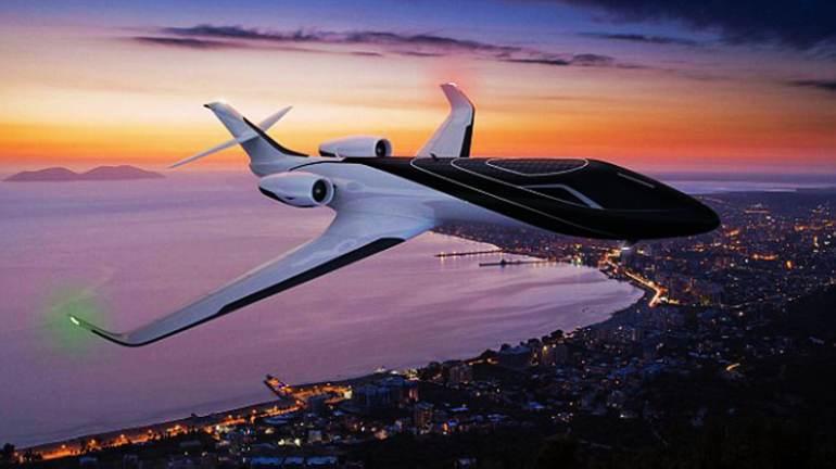 高清:未来飞机概念图出炉