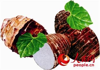 江苏泰州举办芋头集打响特色农产品牌