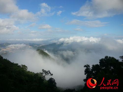 广东观音山景区开展15周年庆祝系列活动