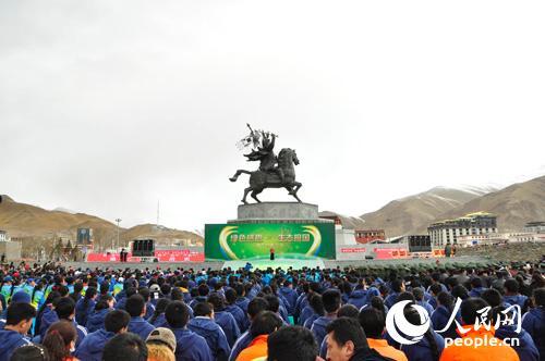 """青海省玉树州全面拉""""绿色感恩 生态报国""""大行动"""