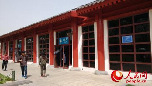 西安大雁塔景区设有女性专用厕所