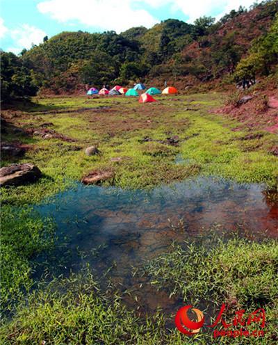 广西钦州八寨沟景区五一将举行首届帐篷节--旅游频道