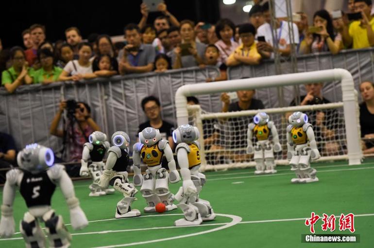 RoboCup机器人足球世界杯收官