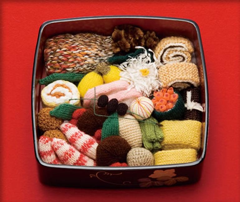 高清:日本主妇巧手织美食 逼真惹人垂涎