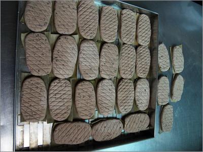 """饼状赤豆糕  农忙过后,同里的乡村流行吃一种叫""""赤豆糕""""的糯米食……[详细]"""