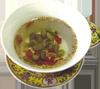 """四道茶   民间传统风俗中,""""四碗茶""""是震泽人宴请贵客或婚礼宴席的首选饮品……[详细]"""