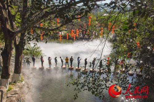 春节登高祈福 广东罗浮山景区接待游客65.1万人次