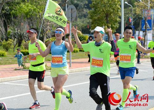 2016阳江海陵岛环岛国际马拉松赛圆满落下帷幕