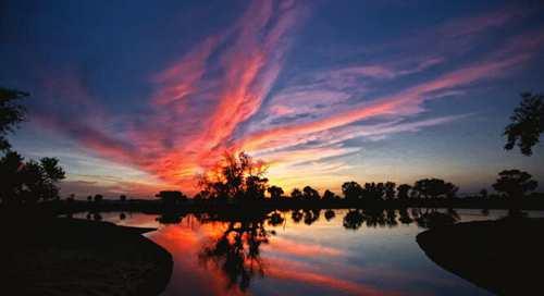 新疆美景如诗如画,旅游的时候看一看夕阳
