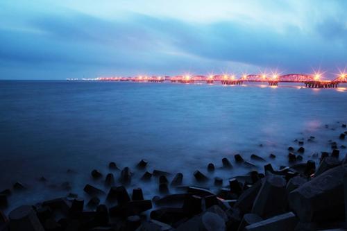 洋口港景区 图片来源:如东旅游网