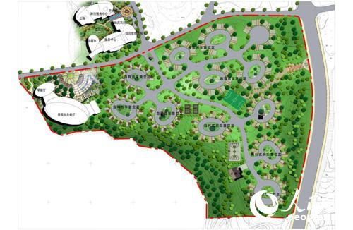 房车营地规划设计cad