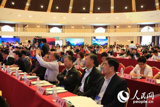 第二届全国乡村旅游与旅游扶贫工作推进大会在河北张家口召开。人民网 刘佳 摄
