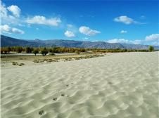 宽谷沙滩(李意强 摄)