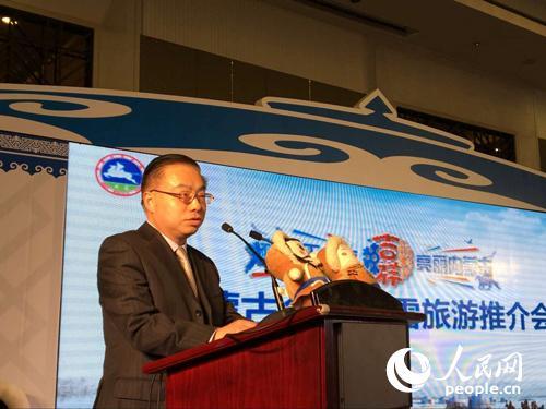 上海市旅游局副局长张旗致辞