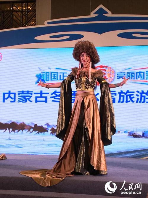 蒙古族服装展示