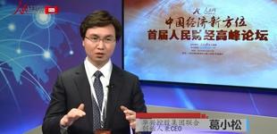 人民网专访华兴控股集团联合创始人兼CEO葛小松