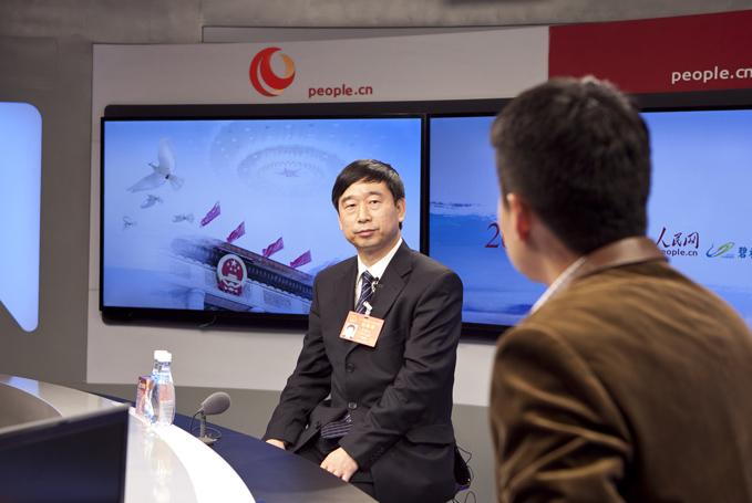 全国人大代表、河南信阳市委书记乔新江做客明升网