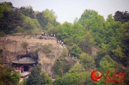 安徽浮山风景区清明假期研学游升温