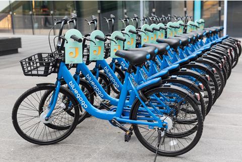 帝都新惊喜!新国贸饭店携手小蓝单车打造都市趣享生活