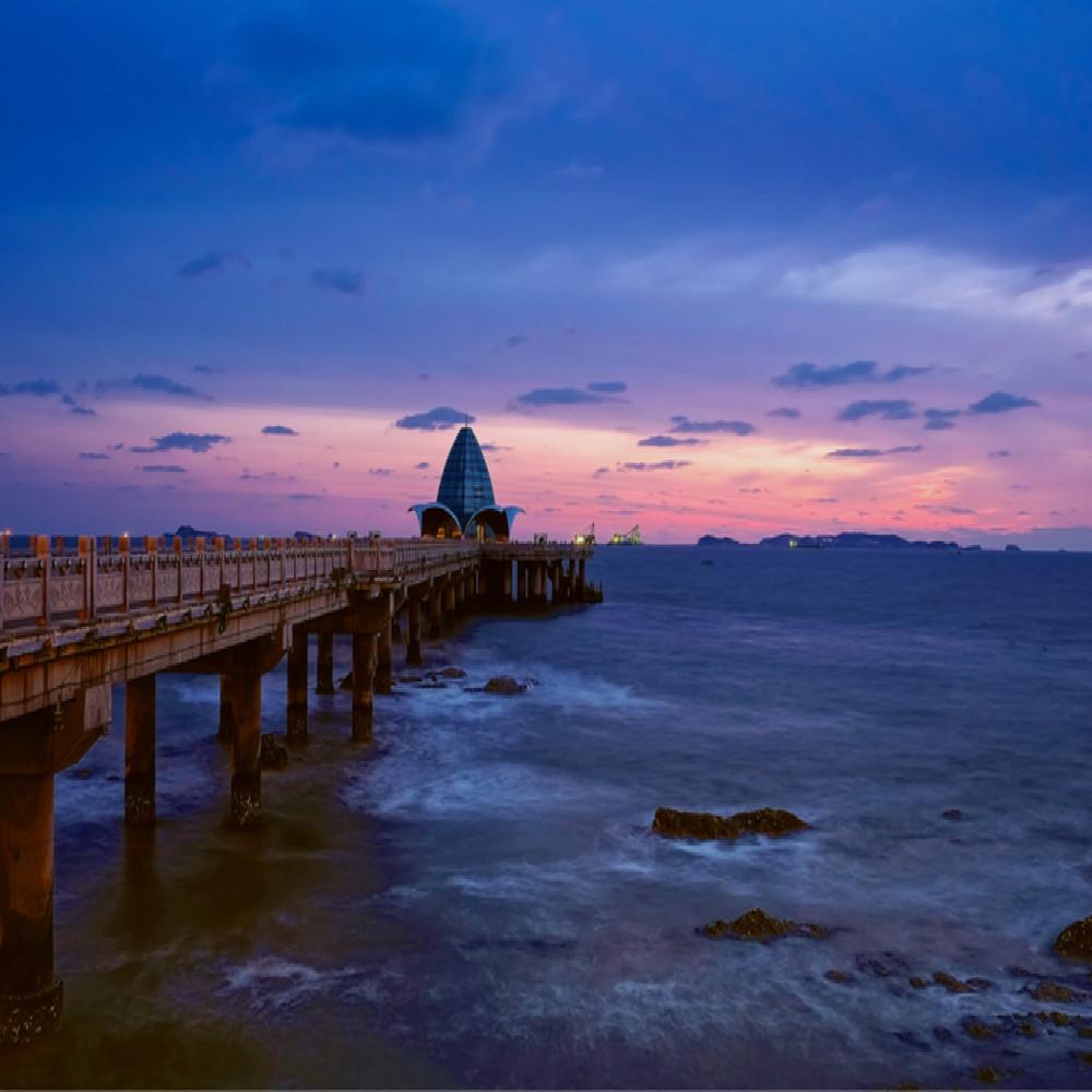 暮鼓晨钟的南山景区,北方最大的赏樱圣地的濯村,山海仙境的长山列岛等