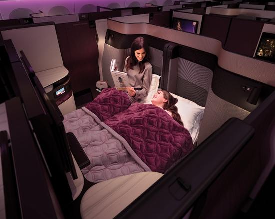 图片由卡塔尔航空提供。
