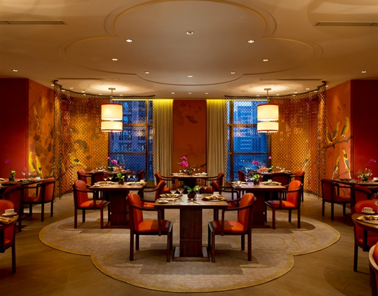 北京华尔道夫酒店-紫金阁。