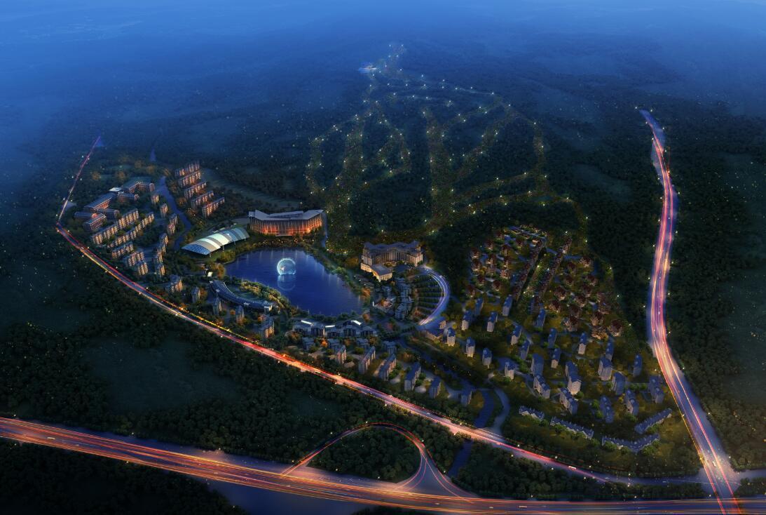 河北旅投翠云山・奥雪小镇在北京的人需要一个远离城市放松身心的地方,崇礼翠云山就是这样一个好去处。
