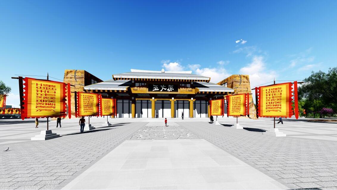 """五丈原旅游品牌通过充分挖掘蔡家坡文化,创新性打造""""五丈原旅游品牌""""。"""
