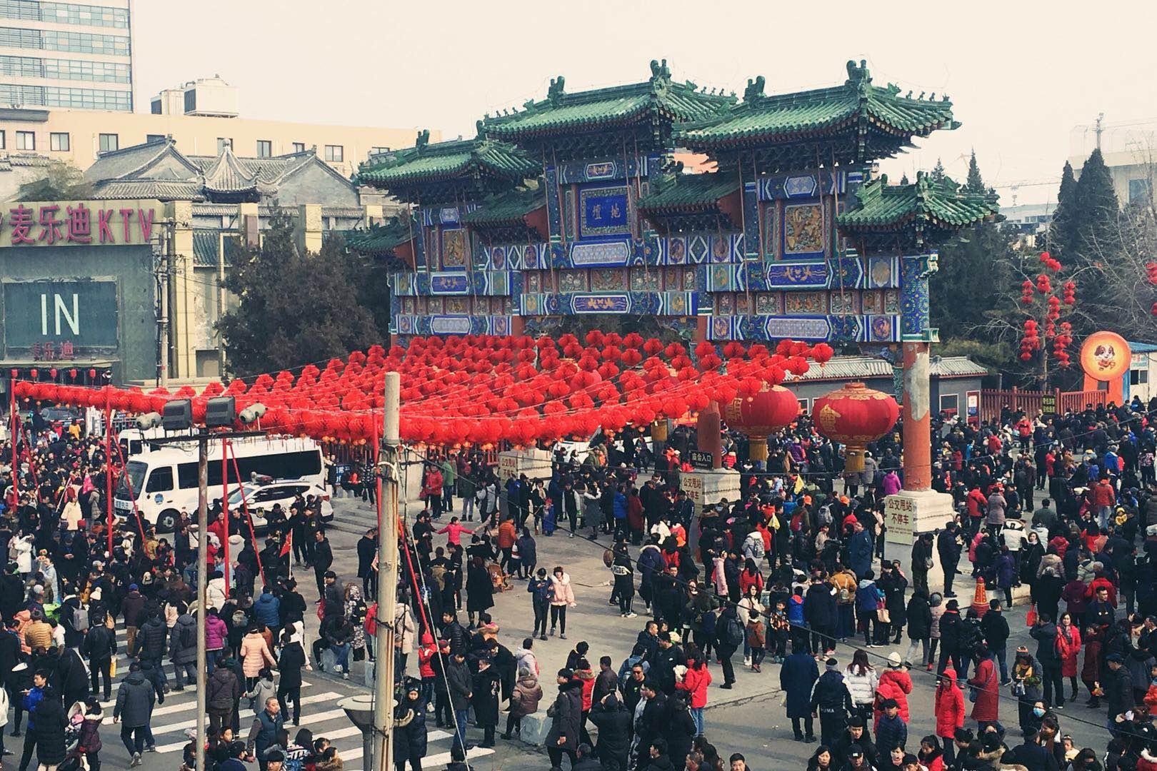 高清组图:欢乐过大年 北京春节庙会迎新春