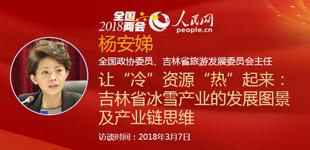吉林省旅游发展委员会主任杨安娣做客人民网