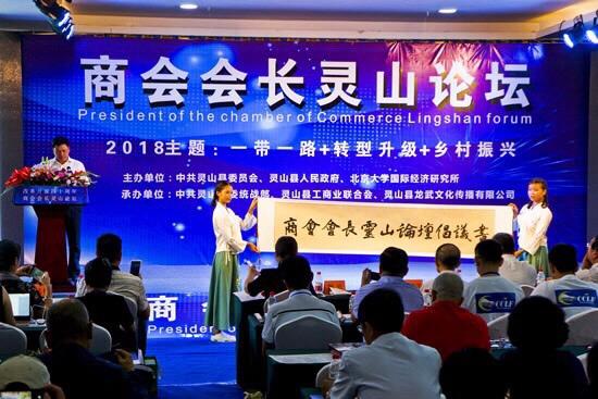 灵山荔枝文化旅游节上演商会会长论坛 聚焦乡村振兴