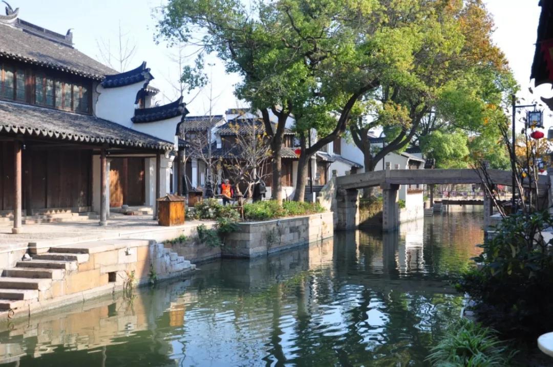 初秋時節 走進清新文藝的吳江水鄉古鎮