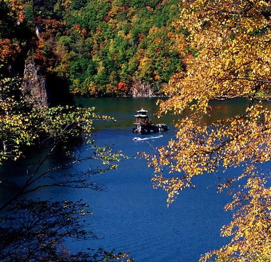 风景区,白山江源枫叶岭,露水河国家森林公园,松江河国家木公园,临江