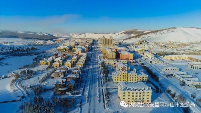 内蒙古阿尔山推冬季旅游产品 游客可享...
