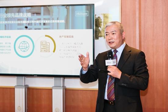 希尔顿大中华区及蒙古项目开发总裁黄德利