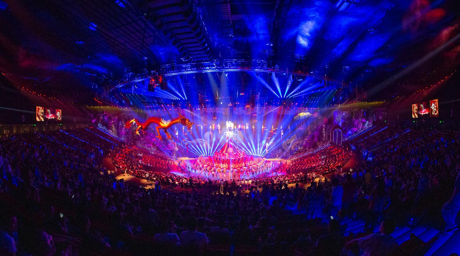 珠海长隆剧院《龙秀》预演拉开大湾区国际演艺新序幕