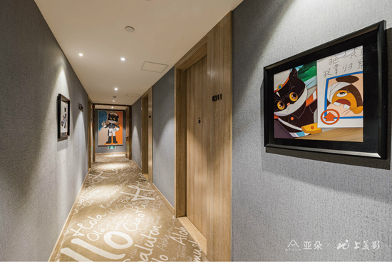 与国产动画融合亚朵与上美影共推IP酒店