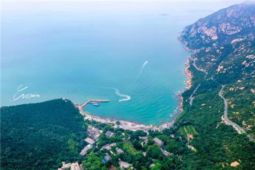 俯瞰太清湾(摄影:郭鑫)